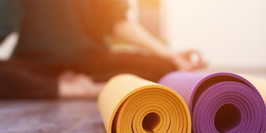 Tips for Managing Mental Health on Election Day - Yoga Pose