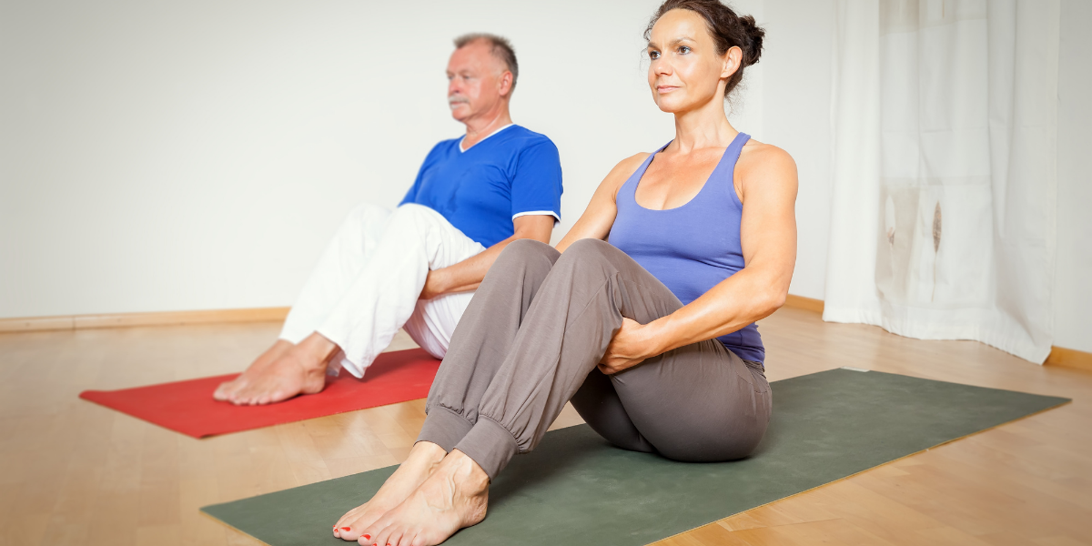 Yoga therapy for couples