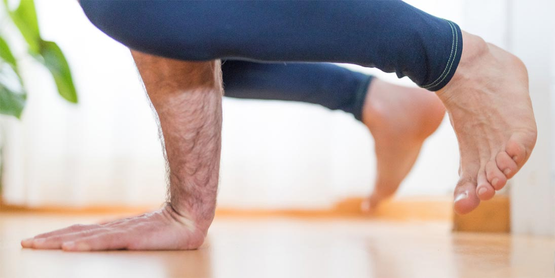 How Yoga Helped One Man Cope with Multiple Sclerosis - Yoga Pose