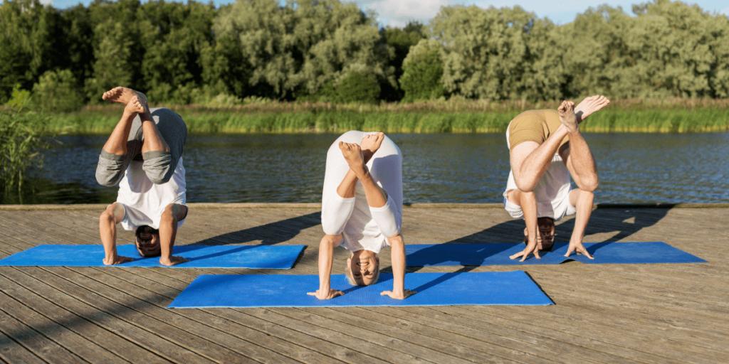 Yoga Inversions Downsides -tripod egg pose
