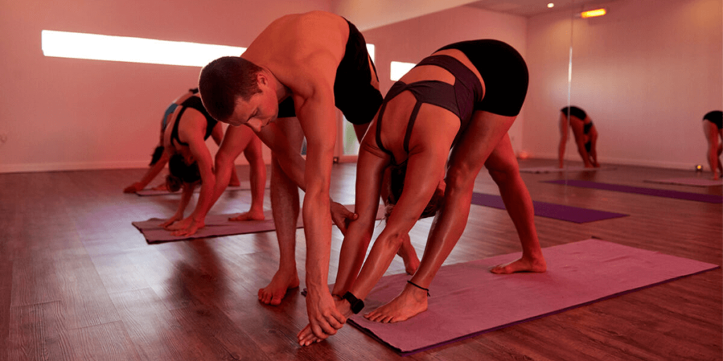 Hot Yoga is a type of yoga that aims to calm the mind and improve physical health regardless of the room temperature.