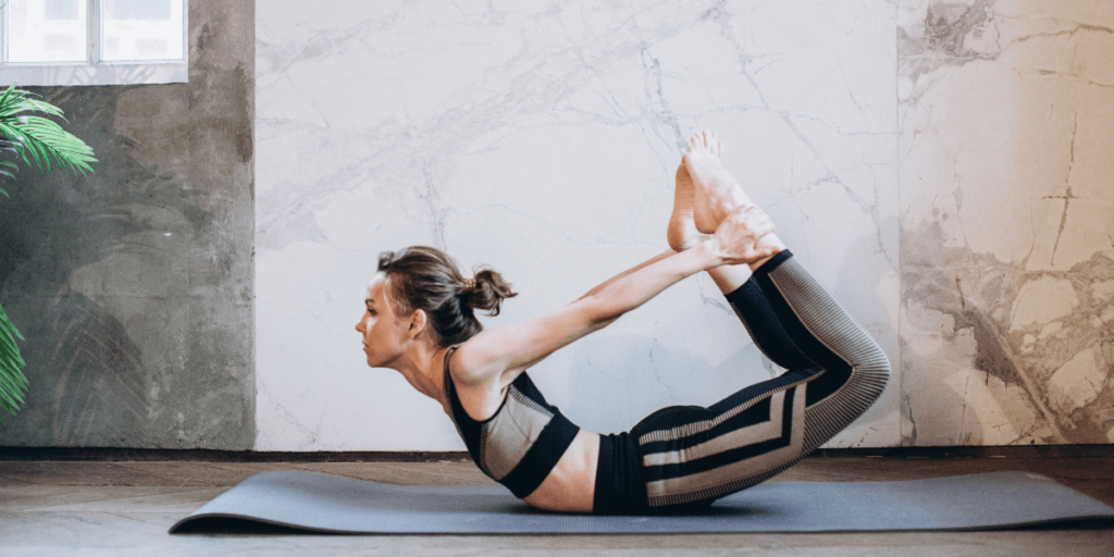 Bow Pose for Healthy Gut
